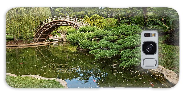 Gardens Galaxy Case - Lead The Way - The Beautiful Japanese Gardens At The Huntington Library With Koi Swimming. by Jamie Pham