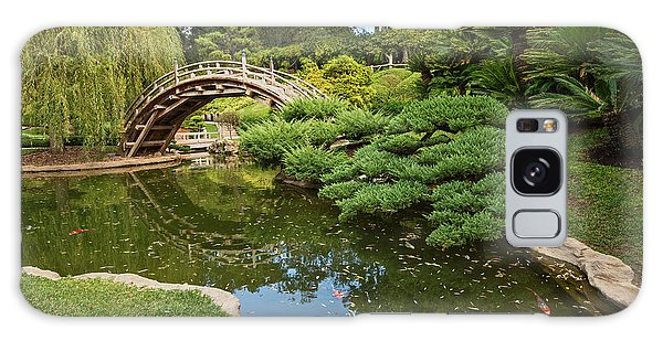 Lead The Way - The Beautiful Japanese Gardens At The Huntington Library With Koi Swimming. Galaxy Case