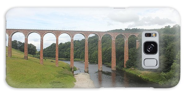Leaderfoot Viaduct Galaxy Case by David Grant