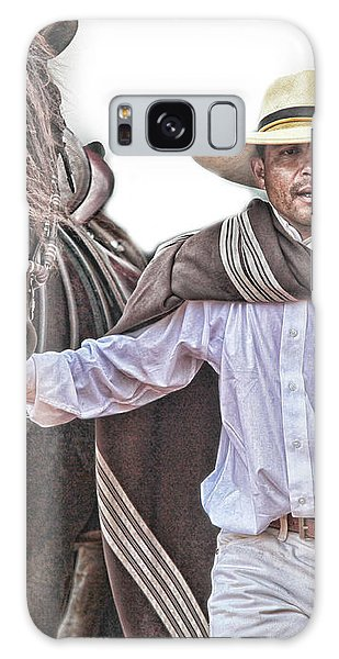Leading To Competition Peruvian Horse Galaxy Case by Toni Hopper