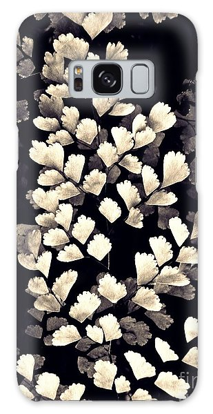 Leaf Abstract 15 Sepia Galaxy Case by Sarah Loft
