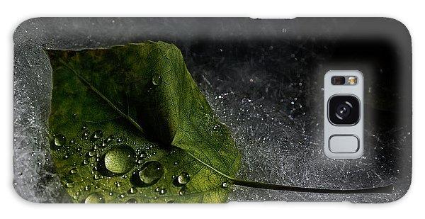 Leaf Droplets Galaxy Case