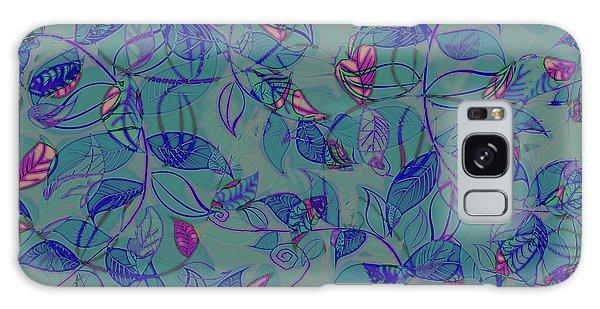 Leaf Mesh Galaxy Case by Linde Townsend