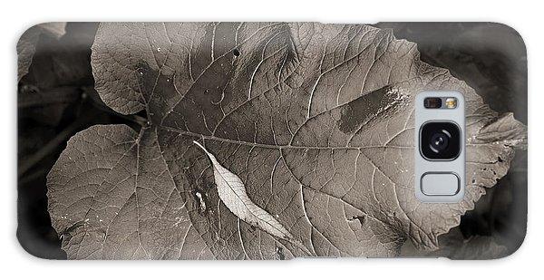 Leaf On A Leaf Galaxy Case