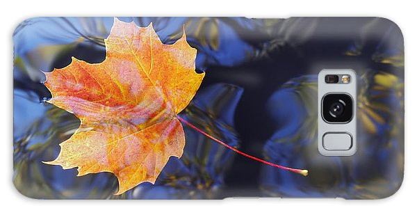 Leaf On The Water Galaxy Case