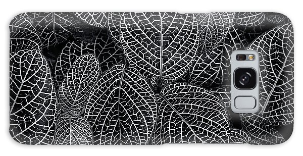Leaf Pattern Galaxy Case by Wayne Sherriff