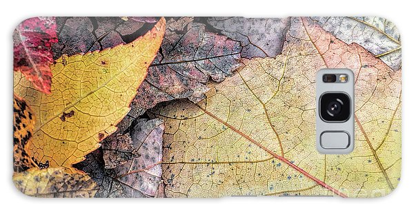 Leaf Pile Up Galaxy Case by Todd Breitling