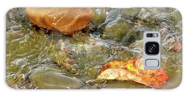 Leaf, Rock Leaf Galaxy Case