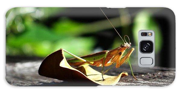 Leafy Praying Mantis Galaxy Case
