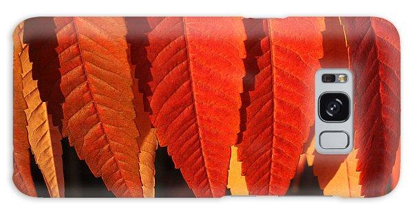 Leafy Valance Galaxy Case