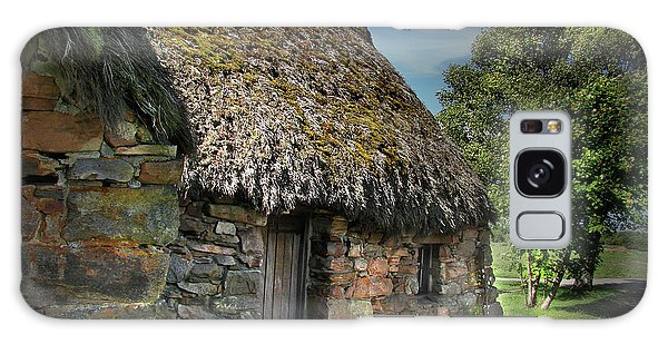 Leanach Farmhouse Culloden Moor  Galaxy Case