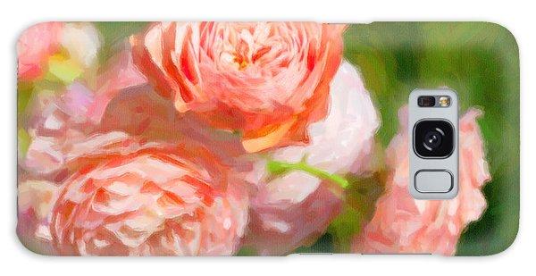 Leander English Rose Galaxy Case by Verena Matthew