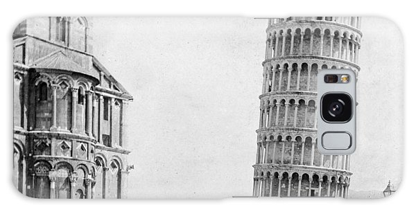 Leaning Tower Of Pisa Italy - C 1902  Galaxy Case by International  Images