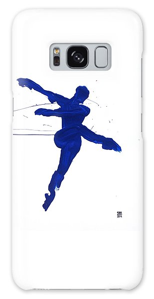 Leap Brush Blue 1 Galaxy Case