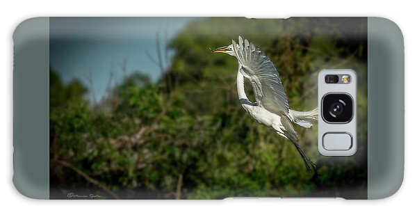 Egret Galaxy Case - Leap Of Faith by Marvin Spates