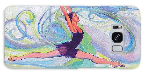 Leap Of Joy Galaxy Case by Jeanette Jarmon