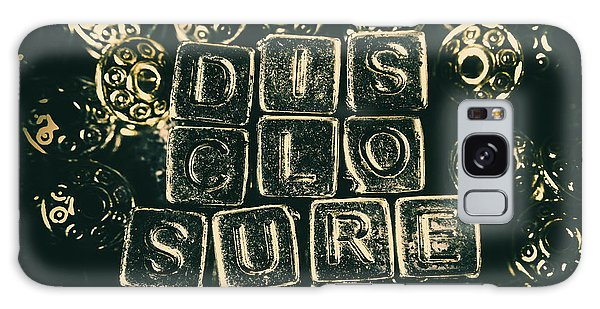 Aliens Galaxy Case - Learning Blocks Of Disclosure by Jorgo Photography - Wall Art Gallery