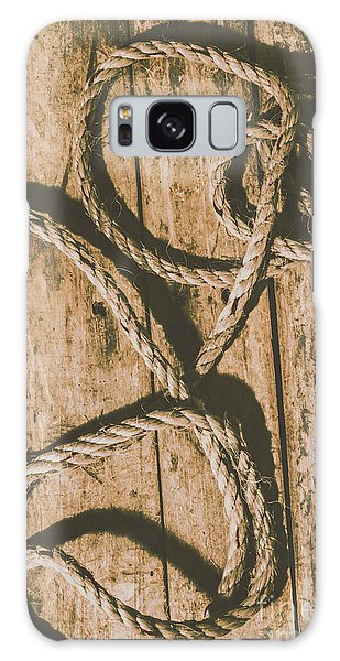 Learning The Ropes Galaxy Case by Jorgo Photography - Wall Art Gallery