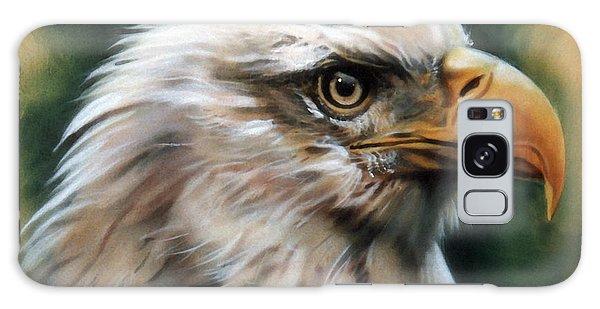 Leather Eagle Galaxy Case by J W Baker