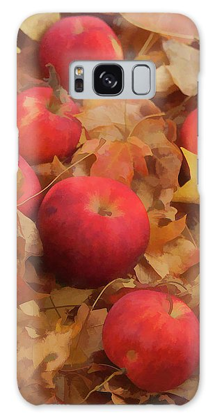 Leaves And Apples Galaxy Case