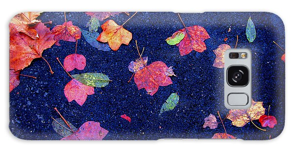 Leaves Galaxy Case by Christopher Woods