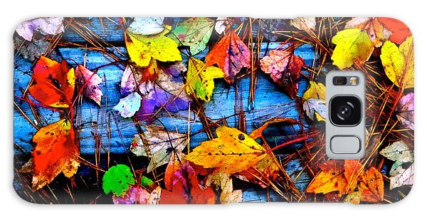 Leaves Of Colors  Galaxy Case by Cathy Dee Janes