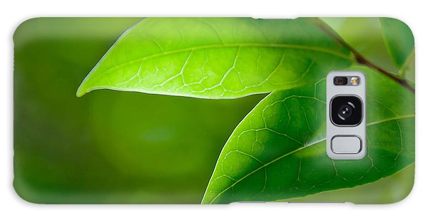 New Leaf Galaxy Case - Leaves Of Green by Az Jackson