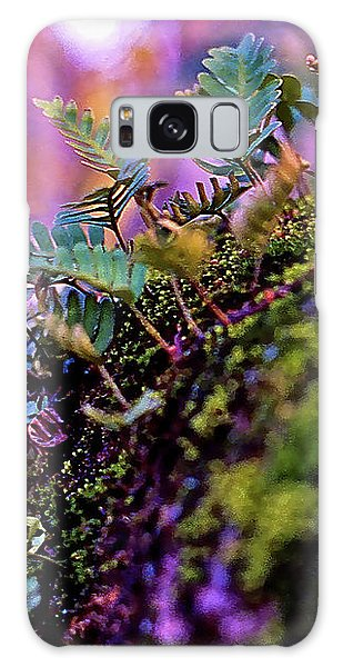 Leaves On A Log Galaxy Case
