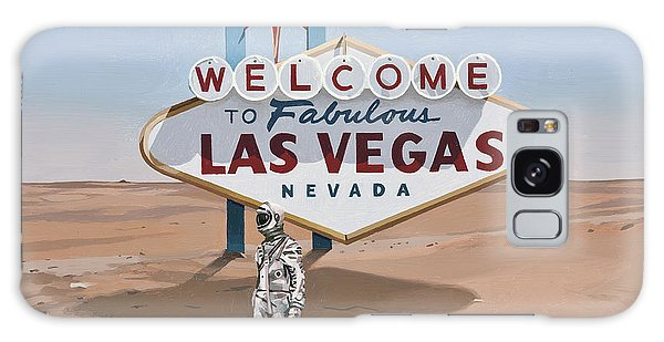 Science Fiction Galaxy Case - Leaving Las Vegas by Scott Listfield