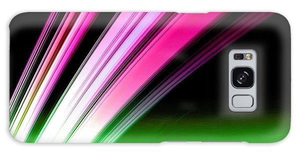 Leaving Saturn In Hot Pink And Green Galaxy Case