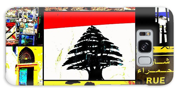 Lebanon Famous Icons Galaxy Case by Funkpix Photo Hunter
