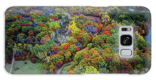 Lebanon Hills Park Eagan Mn Autumn II By Drone Galaxy Case