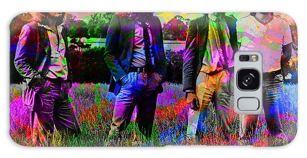 Led Zeppelin Band Portrait Paint Splatters Pop Art Galaxy Case by Design Turnpike