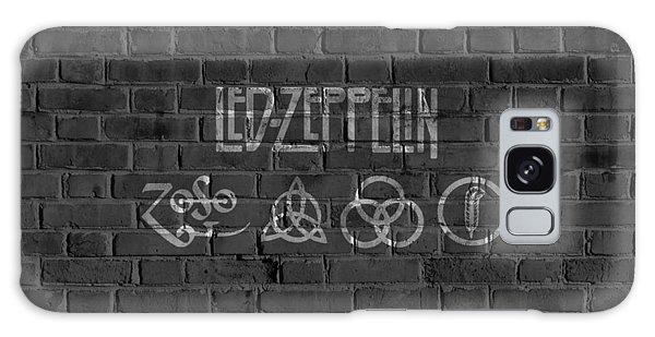 Led Zeppelin Brick Wall Galaxy Case
