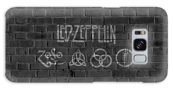 Led Zeppelin Brick Wall Galaxy Case