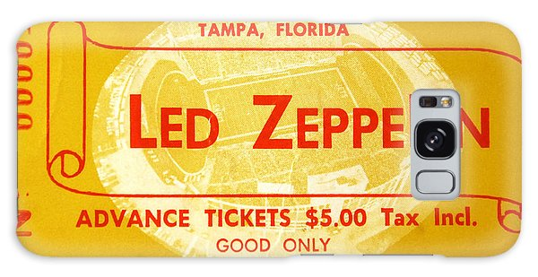 Led Zeppelin Ticket Galaxy Case
