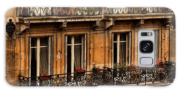 Left Bank Balconies Galaxy Case