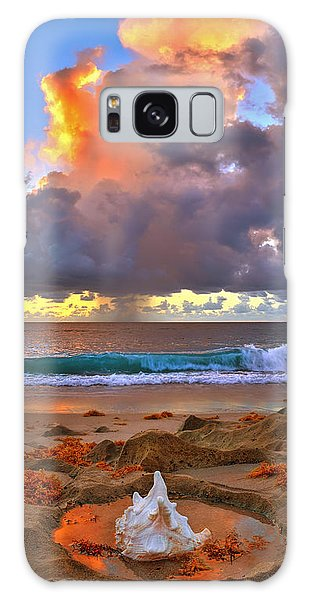 Left Behind - From Singer Island Florida. Galaxy Case