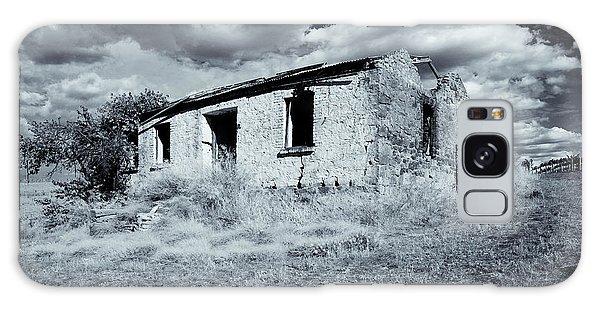 Brick House Galaxy Case - Left In Ruin by Mike  Dawson