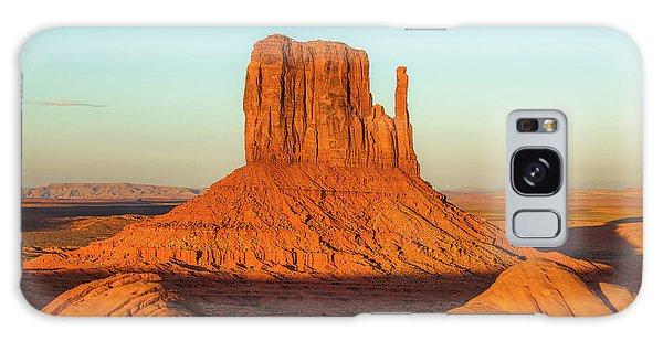 Left Mitten Sunset - Monument Valley Galaxy Case