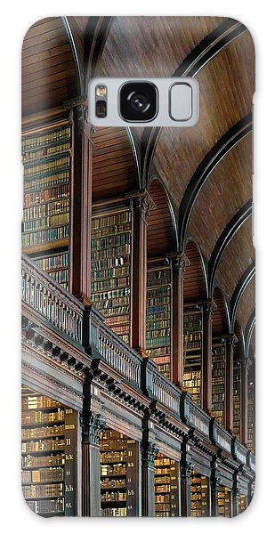 Left Wing Of The Long Room Galaxy Case