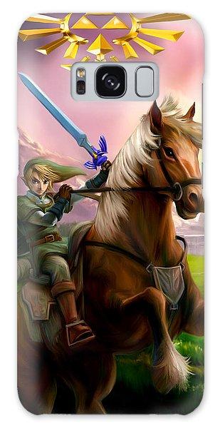 Legend Of Zelda- Link And Epona Galaxy Case