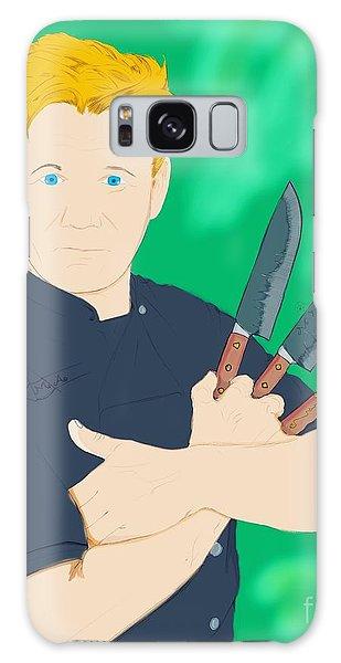 Gordon Ramsay Galaxy Case - Legendary Chef by Mohammad Albedwawi