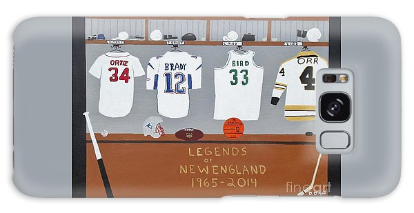Legends Of New England Galaxy Case by Dennis ONeil