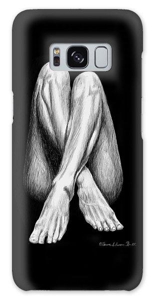 Legs Galaxy Case