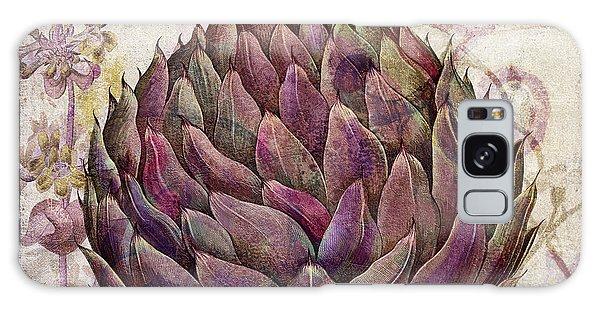 Artichoke Galaxy S8 Case - Legumes Francais Artichoke by Mindy Sommers