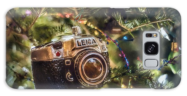 Greeting Galaxy Case - Leica Christmas by Scott Norris
