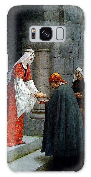 Leighton Edward Blair Charity Of St Elizabeth Of Hungary Galaxy Case