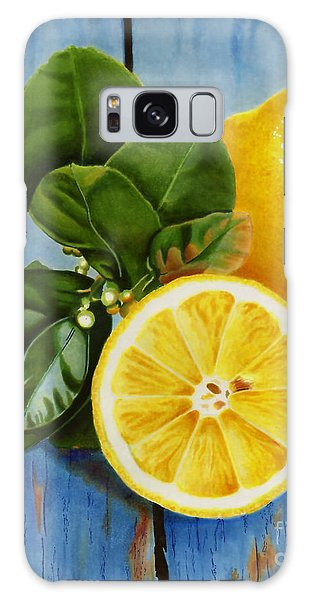 Lemon Fresh Galaxy Case