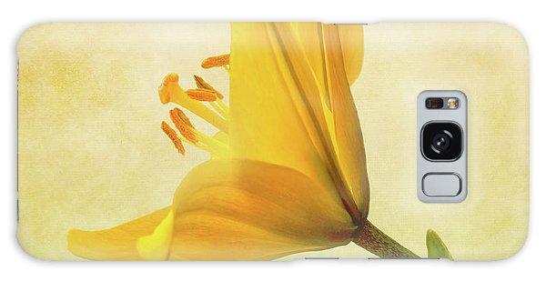 Lemon Lily Galaxy Case by Roy McPeak